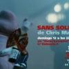 """Proyeccion de """"Sans Soleil"""" en #solarpies. Cartel de Asamblea Popular de Lavapies"""