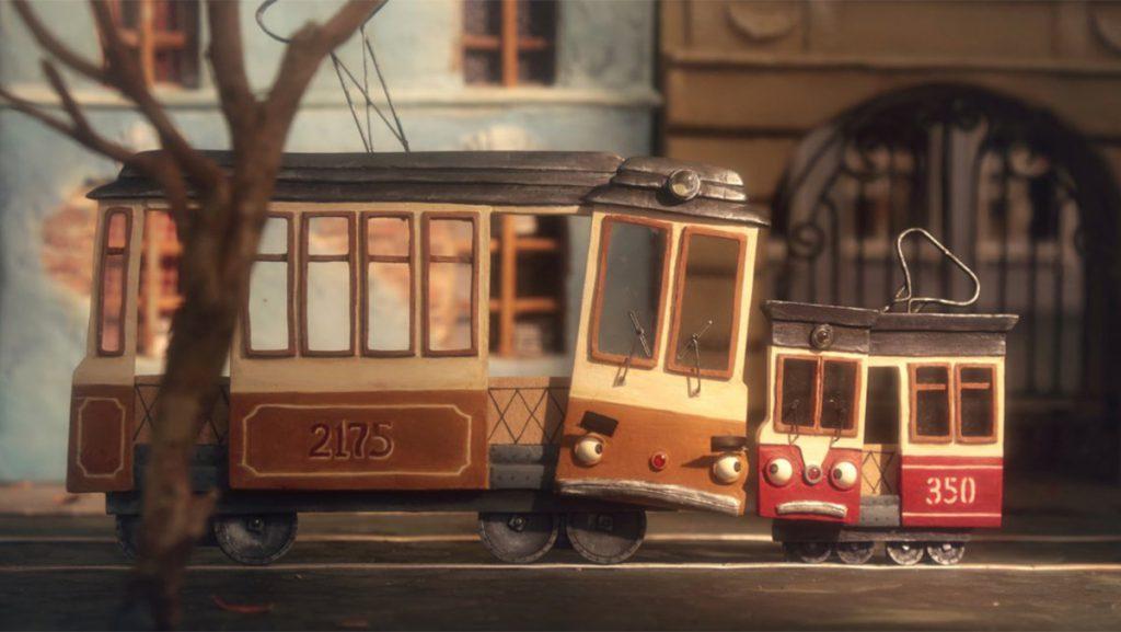 Dos tranvías